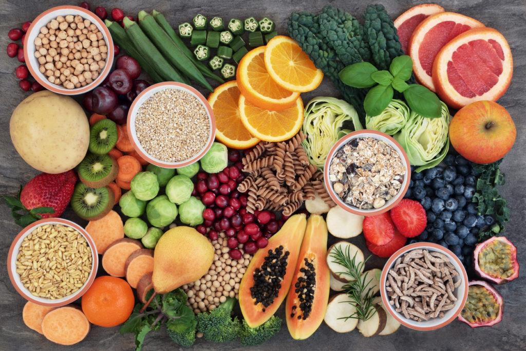 alimentos com fibras